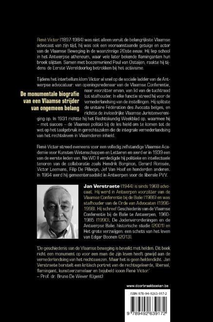 René Victor: biografie | Jan Verstraete