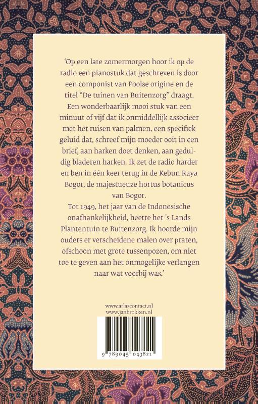 De Tuinen Van Buitenzorg Jan Brokken Doorbraak Boeken